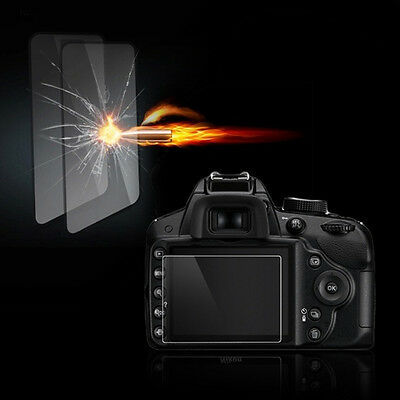 Tempered Glass Film LCD Screen Protector for Nikon D3100 D3200 D3300 UK