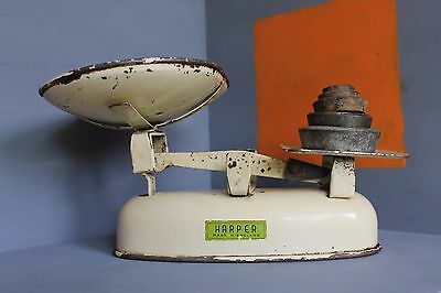 Vintage Harper Scales & Weights.Model 3178. Made in England.