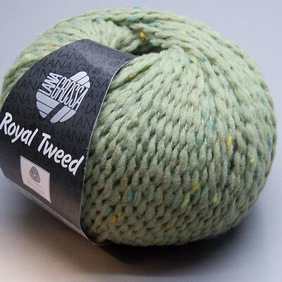 Lana Grossa Royal Tweed 083 / 50g Wolle