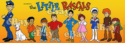 NEW!! EXTRA LARGE! LITTLE RASCALS Panoramic Photo Print HANNA BARBERA