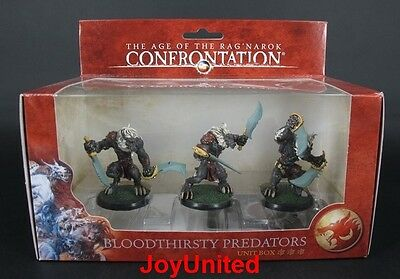 RACKHAM CONFRONTATION Bloodthirsty Predators Unit Box Game Figure WFLV01