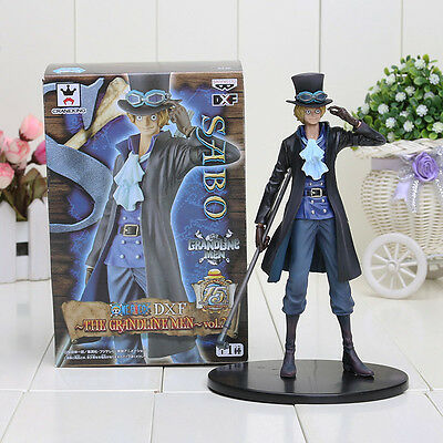 Sabo One Piece 18cm Japan Anime Action Figure With Box FREE SHIPPING