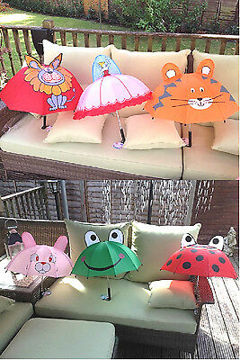 Childrens Umbrella Animal Umbrella Princess Umbrella Rain Brolly Kids Sun Shade