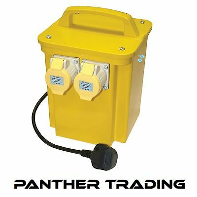 Faithfull 110 Volt Power Plus Transformer 3.3KVA Dual / Twin Outlet - FPPTRAN33A