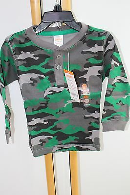 Gymboree Ice All-Star Camouflage Shirt Top T-Shirt Boys Boy NWT NEW Size 2T