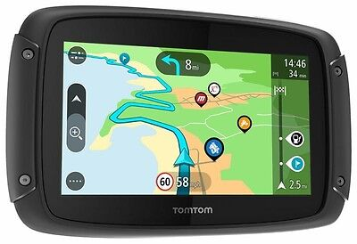 TomTom Rider 42 GPS Sat Nav Motorcycle Western Europe Lifetime Updates
