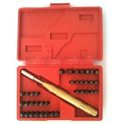 38Pc Letter & Number Stamp Metal Punch Metalwork Security PROFESSIONAL QUALITY