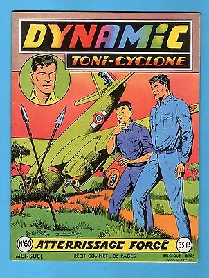 ► Dynamic Toni Cyclone - N°60 - Atterrissage Force  - Artima - 1957