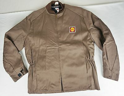Vintage Shell Gas Service Station Attendant Uniform Jacket Coat Lion Uniform EUC