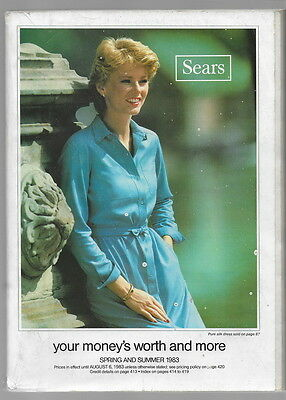 1983 SEARS CATALOG Spring Summer Mail Order Department Store 857 pages Regina SK