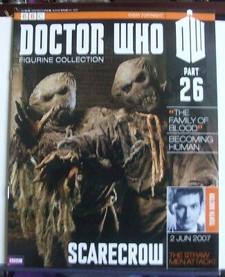 BBC Doctor Who Figurine Collection (Magazine Only) Part 26 Scarecrow