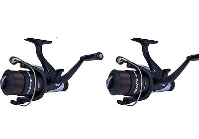 Shakespeare Cypry 40 Freespool Carp Fishing Reel Bait,Running Switch X 2