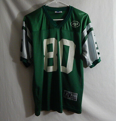 1b0902a0d87 Wayne Chrebet New York Jets NFL Football Jersey Starter Size YOUTH MEDIUM 8  - 10
