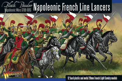 Warlord Games - Black Powder - Napoleonic French line lancers - 28mm