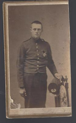 Civil War CDV  Armed 44th New York Infantry Soldier Id'd