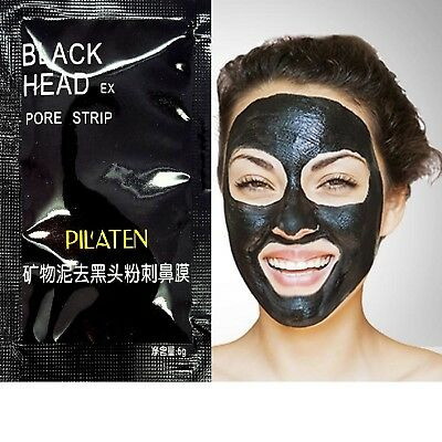 Black Mask Blackhead Remover Deep Cleansing Pore Face Peel Off Mask Pilaten Acne
