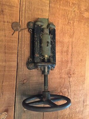 1895 medical hospital suppository machine, rare doctor with great graphics..1500