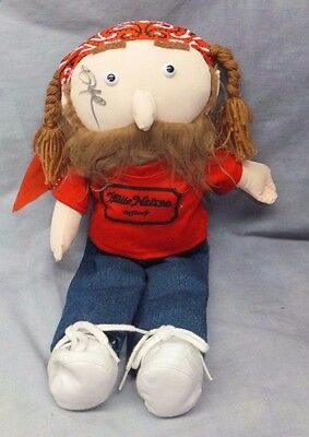 Willie Nelson & Family General Store 16 inch Plush Doll Signed
