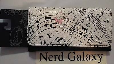 Disney Aristocats Marie Flap Wallet, Music Notes, LICENSED! NEW! FREE SHIPPING!