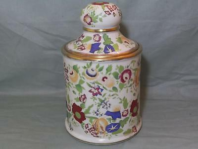 "Hammersley Queen Anne Bone China Storage Jar 5.75"" Tall (Lot B)"
