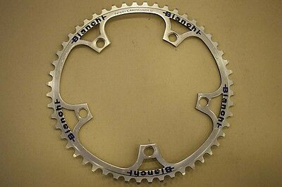 Bianchi Campagnolo pista track chainring sprocket chainwheel 1/8 52t BCD 144mm
