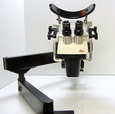 LEICA SZ-4 Microscope For Stone Setter Jeweler Engraver Articulating STAND #391