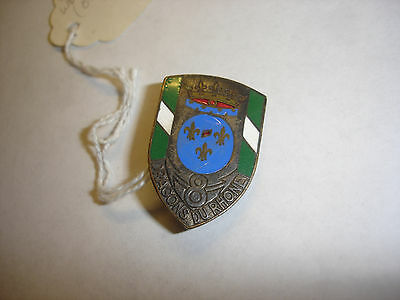 French Cavalry 8Th Regiment Of Dragons Du Rhone Medal