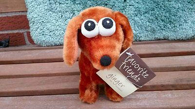 """VINTAGE GINGER THE DACHSHUND WIENER DOG from Favorite Friends - 10"""" long"""