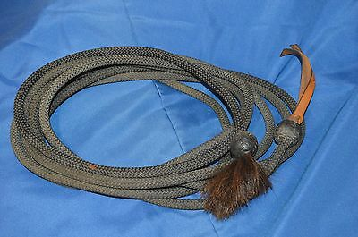 Ralph Harris Mecate Training Reins for Bosal Western Headstall