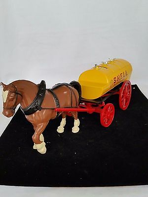 Shell Oil Co Tanker Wagon Bank With Horse 1996                              #261