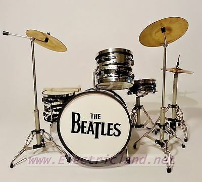 Mini Drum Set BEATLES Ringo Star tribute handmade reply Batteria miniature