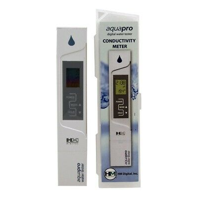 HM DIGITAL EC Meter /Temperature Meter - Waterproof & Magnetic- FAST SHIPPING
