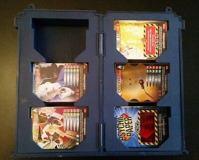dr who battles in time cards and tardis