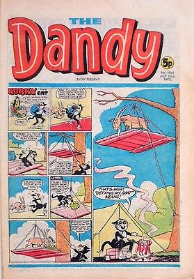 THE DANDY - 23rd JULY 1977 (19 - 25 July) RARE 40th BIRTHDAY GIFT !! VGC..beezer