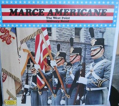 The West Point Military band  - Lp    Marce Americane