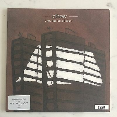 ELBOW - Grounds For Divorce (Limited Edition) - 7 inch Vinyl Record Single