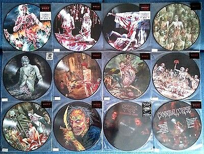 Cannibal Corpse – Picture Disc Complete Collection – 13Lp Set – New & Sealed