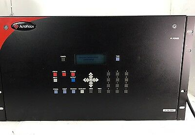 Amx AutoPatch 8Y-3000, From Working Environment. 60 Day Return Policy! Free Ship