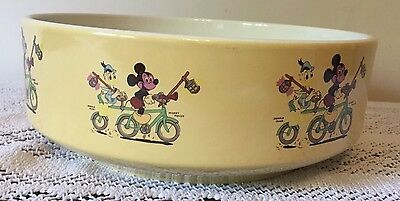 Poole Pottery Micky Mouse Bowl Vintage And Immaculate