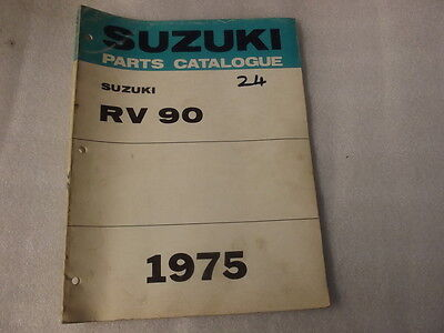 Suzuki Rv90   Parts Catalogue  1975  24