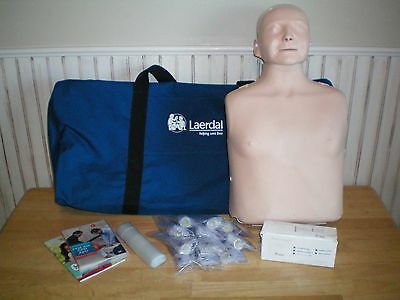 Laerdal Little Anne CPR Manikin with Carrying Bag & Extras
