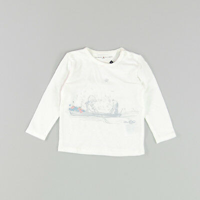 Camiseta color Blanco marca Tommy Hilfiger 6 Meses