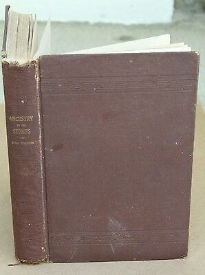 History Genealogy Stokes Family 1903 1St Edition Descendant New Jersey From 1670