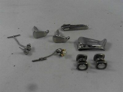 Lot Of Golfing Jewelry Money Clip Tie Tacks And More