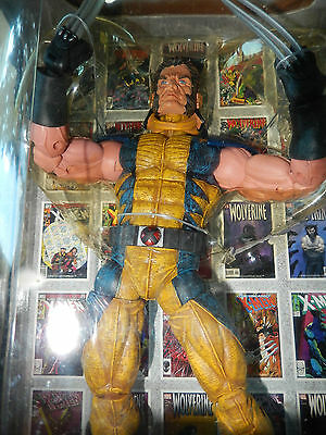 Marvel Legends Icon Series Wolverine Unmasked Many Points of Articulation!!!