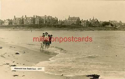 Real Photographic Postcard Of Alnmouth From South East, Northumberland, Monarch