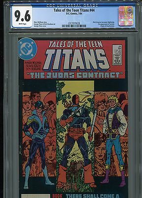 Tales of the Teen Titans #44 (1st Jericho) CGC 9.6 WP  (Nightwing)