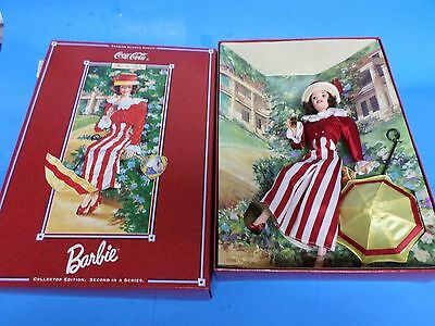 Coca-Cola Barbie After The Walk,2Nd In Series, New In Box With Shipping Box