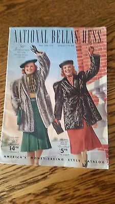 50th Anniversary National Bellas Hess Catalog 1938-1939