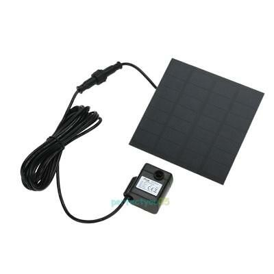 Solar Power Fountain Water Pump Panel Kit Pool Home Garden Fish Pond Submersible